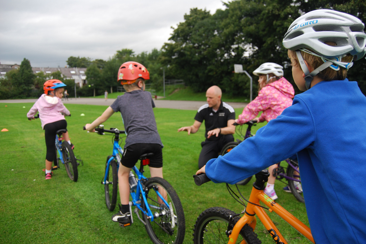 Go Ride sessions at Kendal Cycling Club